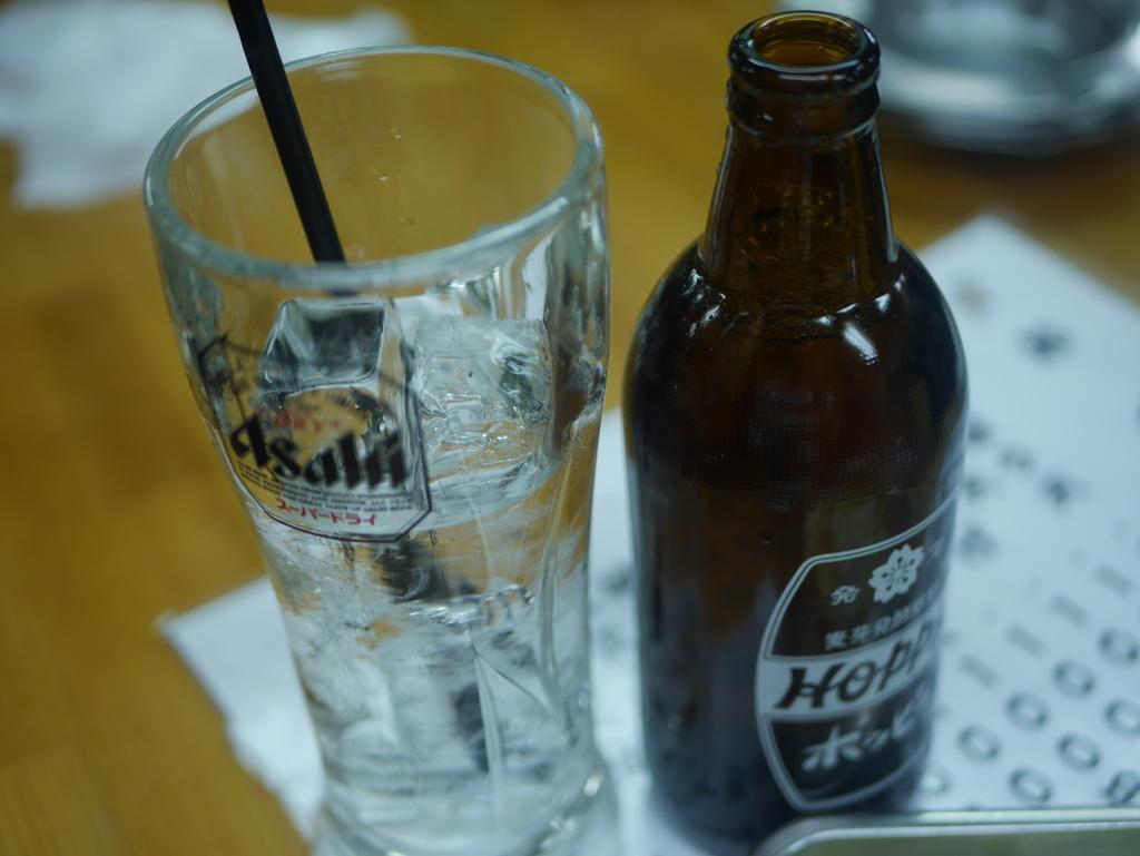 名古屋駅近くにある立ち飲み居酒屋立陣のホッピー