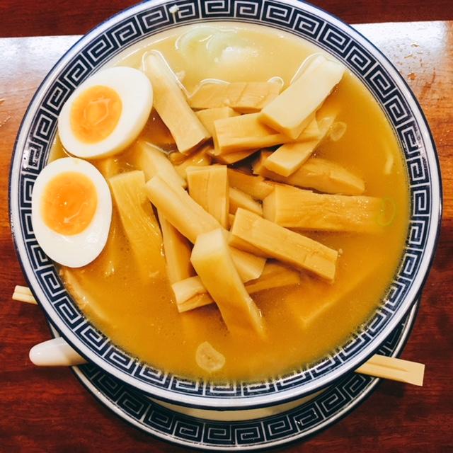 名古屋市丸の内にあるラーメン屋蔘好来の寿ラーメン