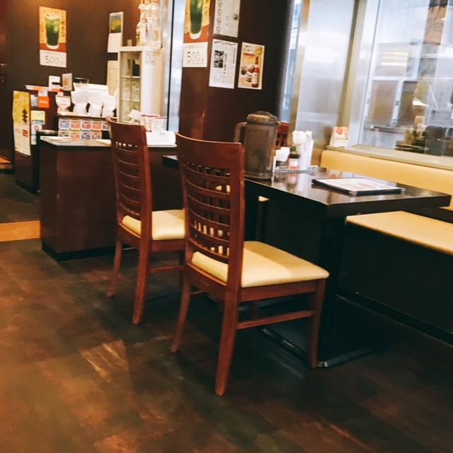 名古屋にあるあんかけスパ名付け親のお店からめ亭の内観