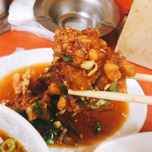 孤独のグルメ名古屋出張編に登場した光陽の酢鶏ハーフ