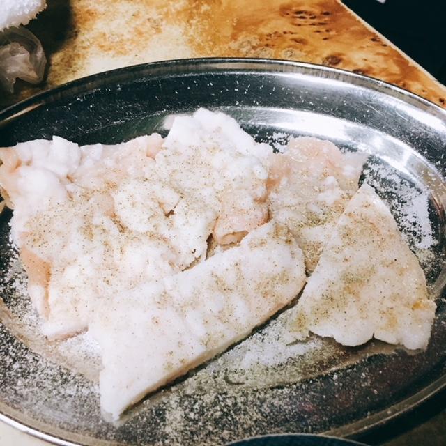 名古屋市浅間町にある焼き肉屋さん馬力屋のホルモン