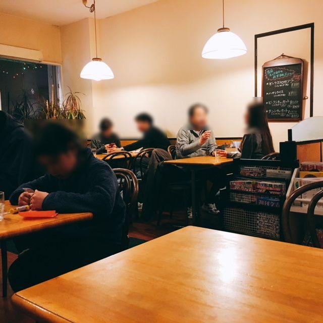 名古屋市吹上にある洋食屋さんキッチン欧味の内観