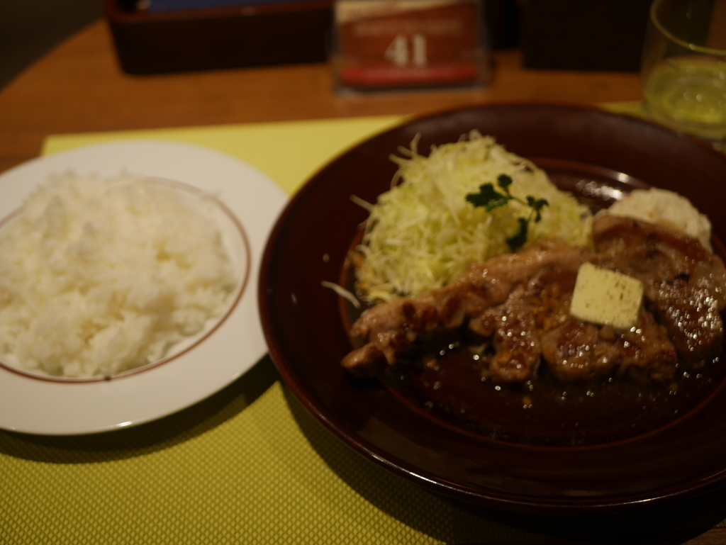 KITTE名古屋にある肉料理のお店KOYOENの週代わりとんてき