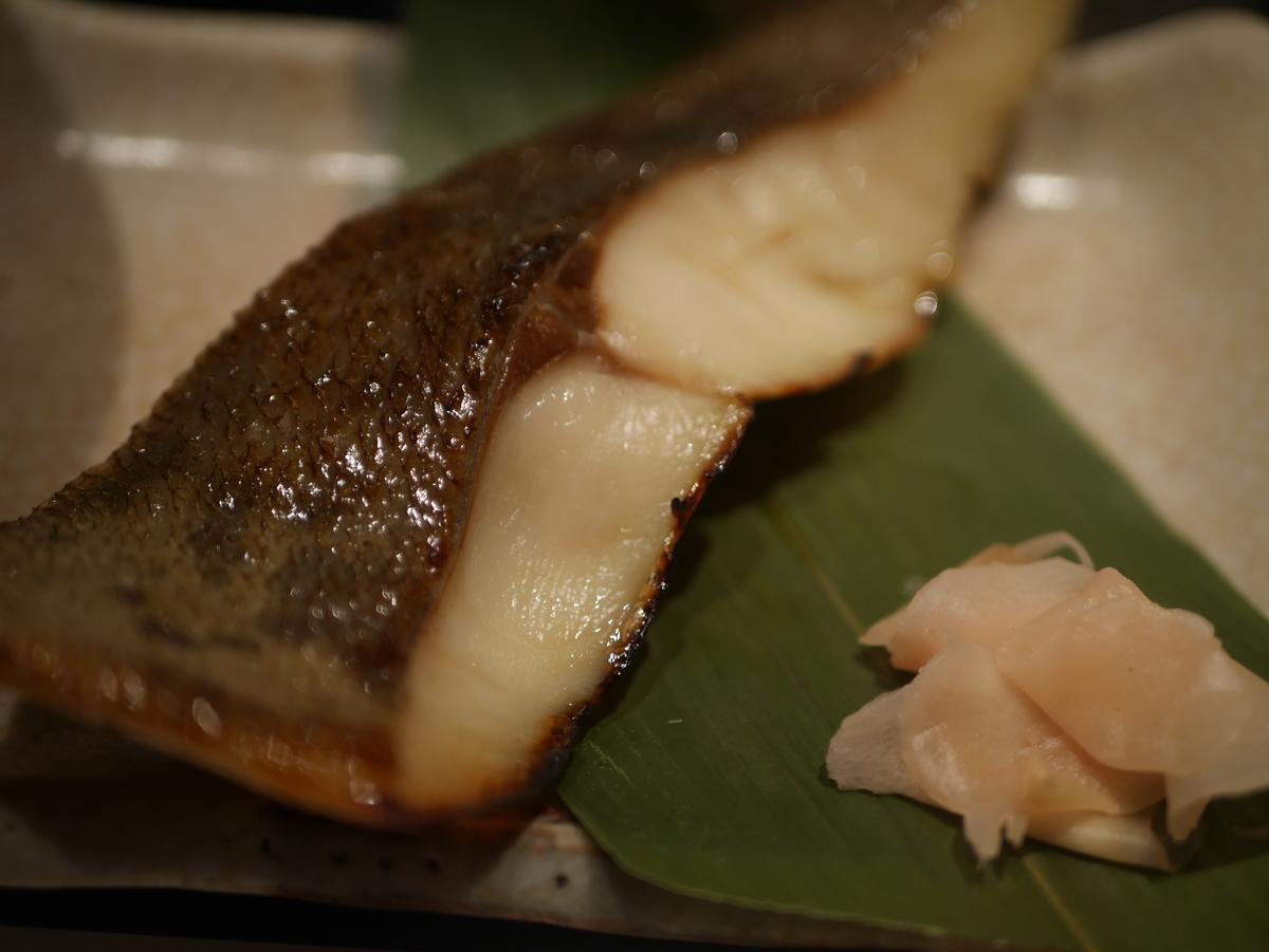 名古屋駅地下街エスカにある魚料理のお店鈴波の銀ヒラス