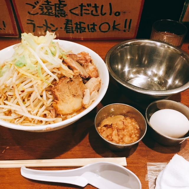 名古屋市新栄にある二郎系ラーメンのお店歴史を刻めのラーメン