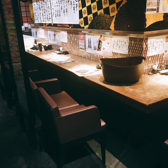名古屋駅から徒歩5分ほどの場所にある個室居酒屋鳥邸の内観