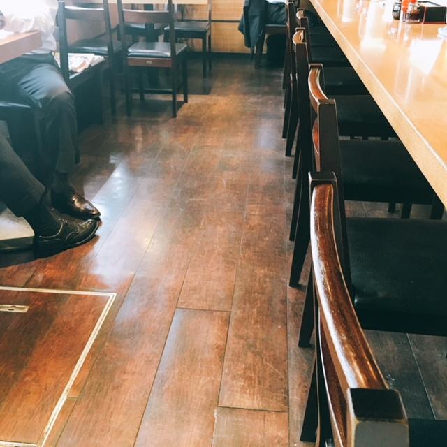 名古屋市東別院にあるラーメン屋さん喜多楽の内観