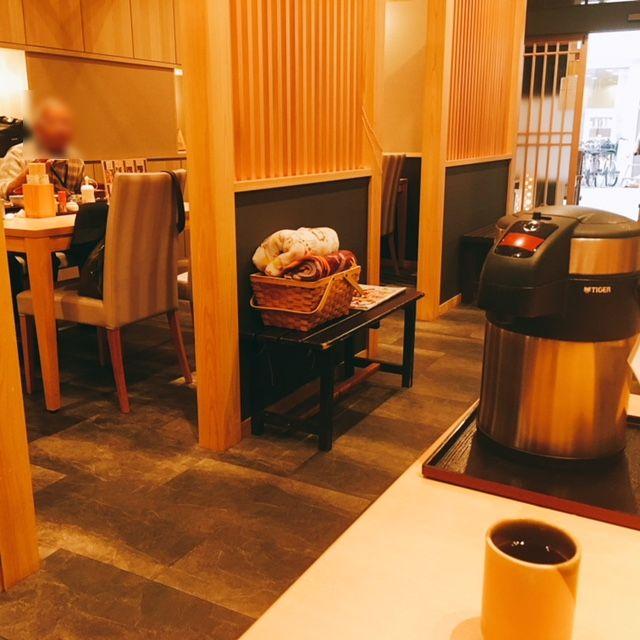 名古屋市大須にある和食料理店まるけいの内観