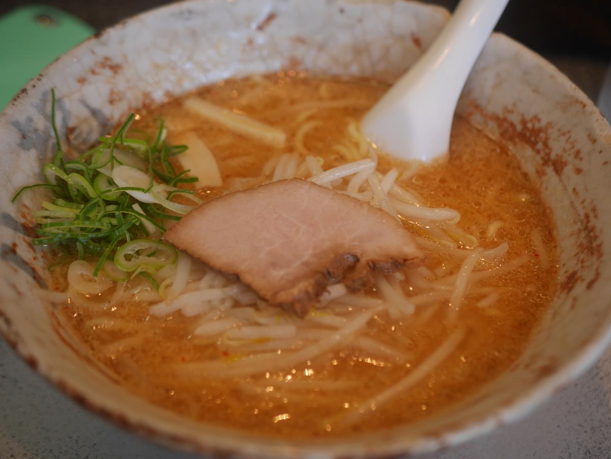 名古屋市中川区にあるラーメン屋さん八龍の味噌ラーメン