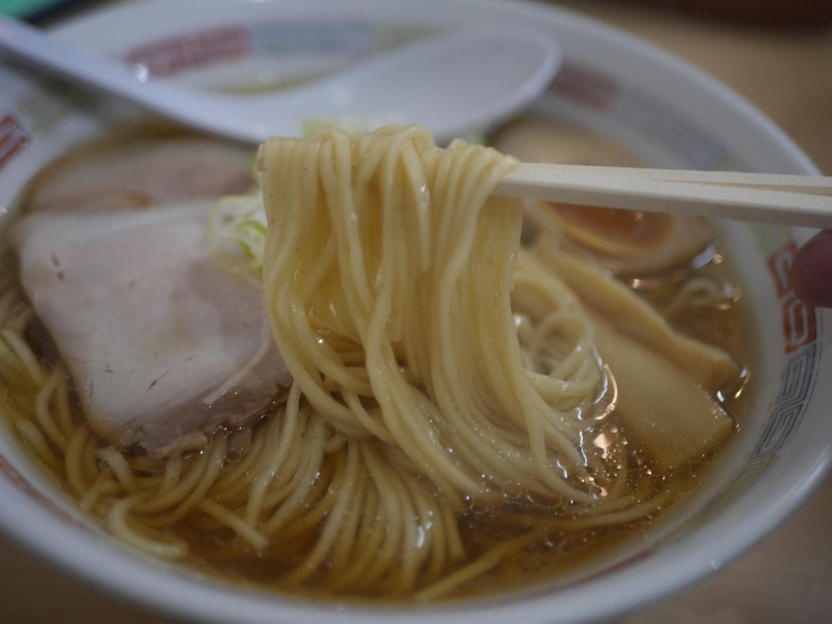 名古屋市大須にあるラーメン屋圓の煮干しラーメン