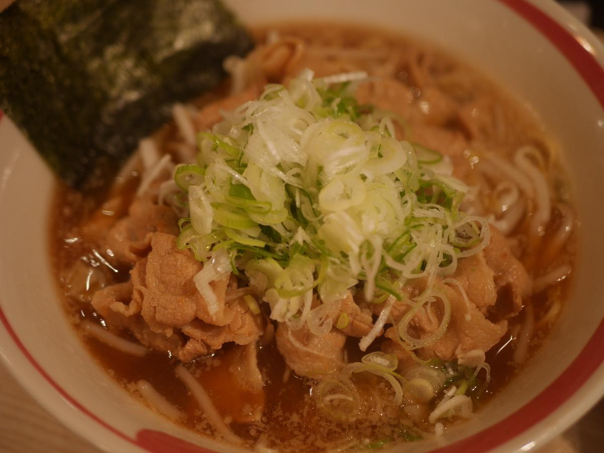 名古屋市大須のおすすめラーメン屋肉そばなおじの肉そば