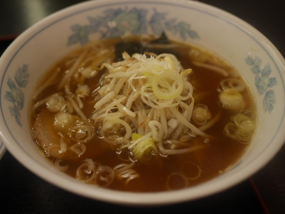 名古屋市大須のおすすめラーメン屋香蘭園のラーメン