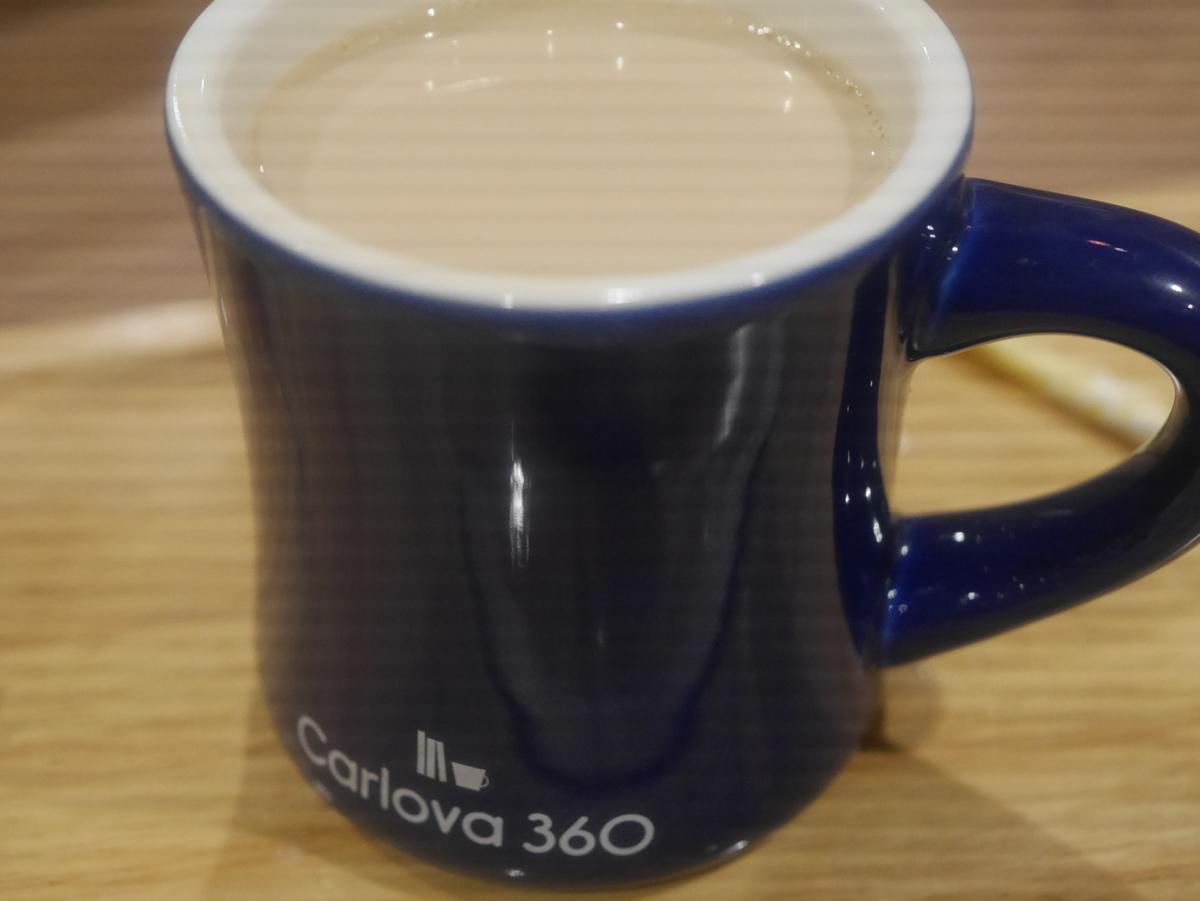 栄にある電源・Wi-Fi完備のカフェカルロバのコーヒー