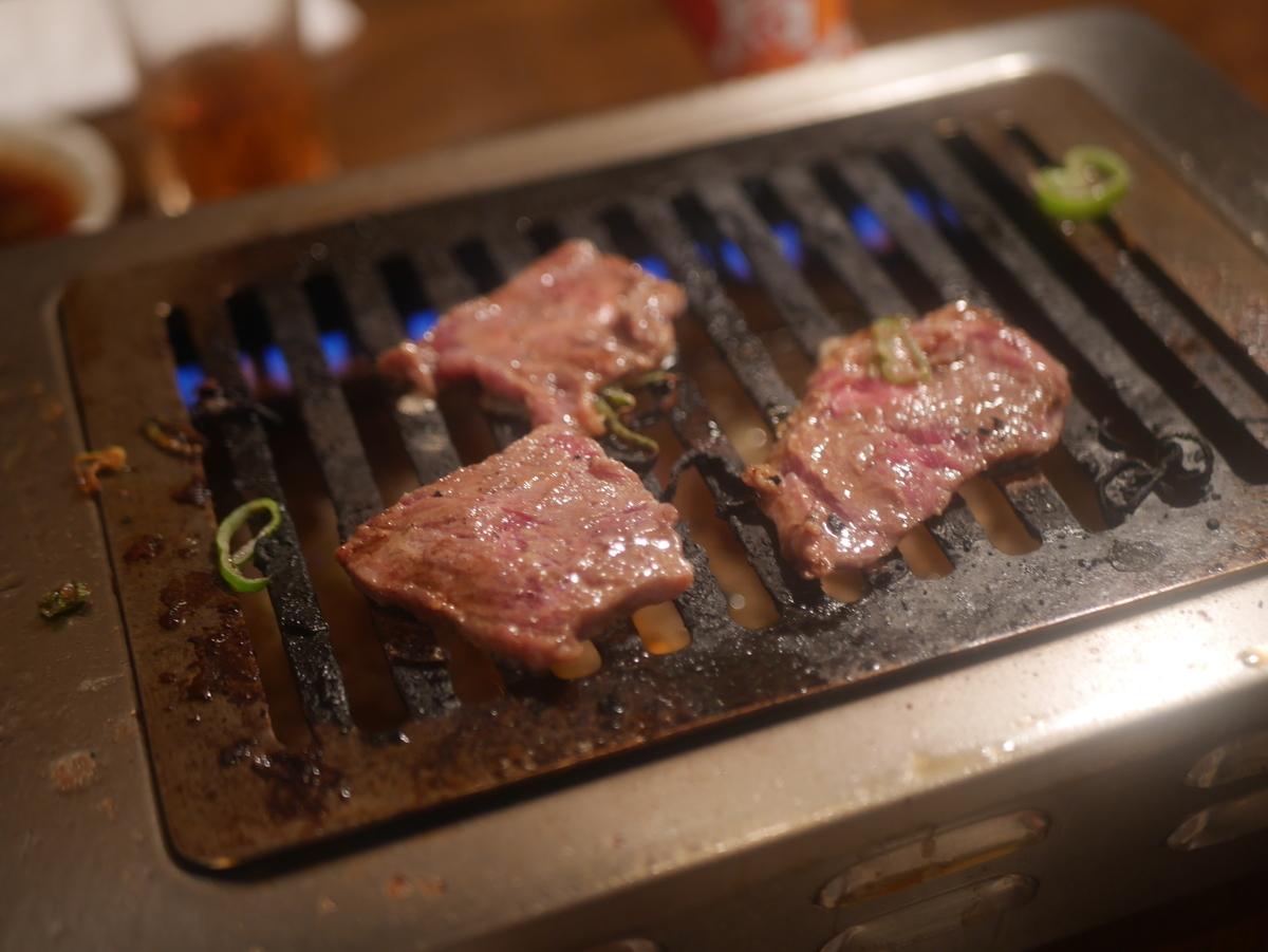 名古屋市山王にある焼き肉屋太陽園のロース