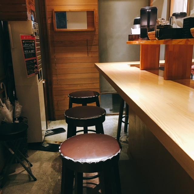 名古屋駅から徒歩8分の場所にあるラーメン屋麺屋壱の内観