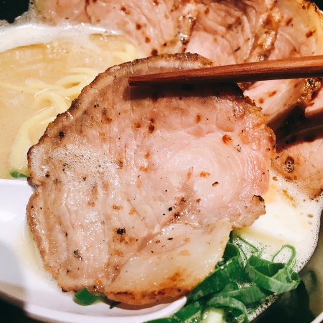 名古屋駅から徒歩8分の場所にあるラーメン屋麺屋壱の塩とんこつチャーシューメン