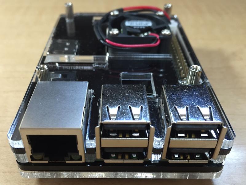 Eleduino RP2用ケース(右側)