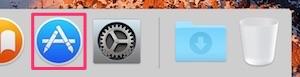 macOS Sierra App Store 起動