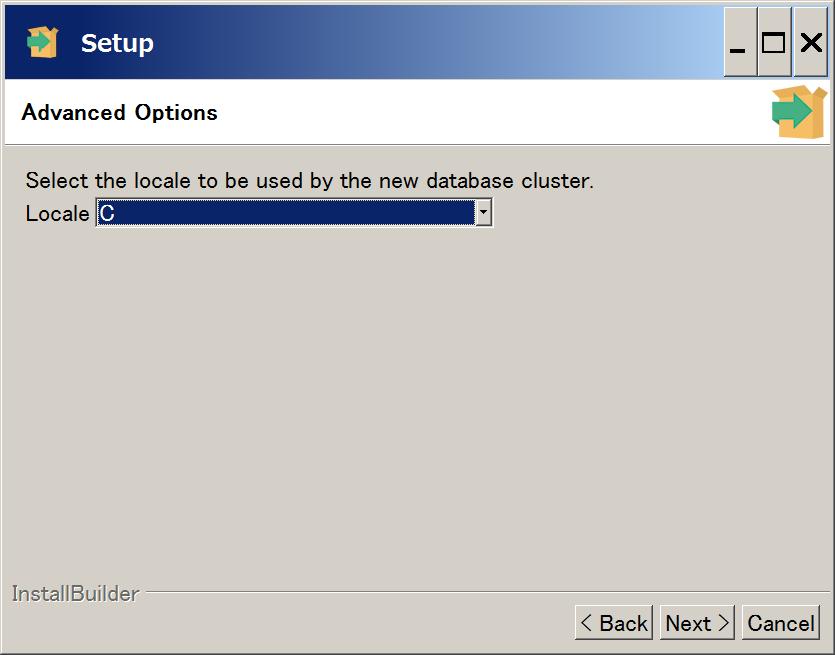 PostgreSQL インストール6