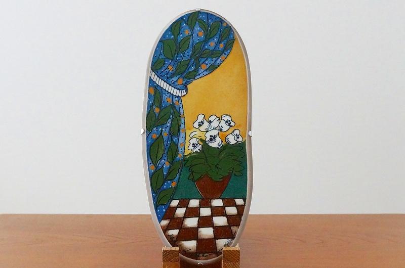 北欧/インテリア/雑貨/ヘルヤ/ウォールプレート/陶板/飾り