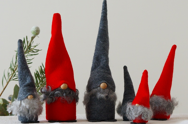 北欧雑貨/北欧/クリスマス/雑貨/飾り/サンタ/インテリア/置物/人形/スペーゲル/オブジェ/