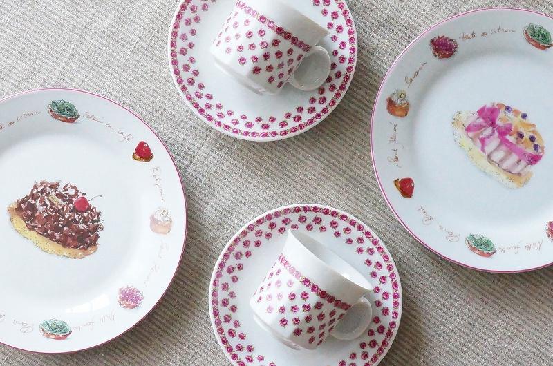 北欧食器/コーヒーカップ&ソーサー/プレート/デザートプレート/ケーキ皿/北欧雑貨/北欧/食器/ビンテージ/ヴィンテージ食器/