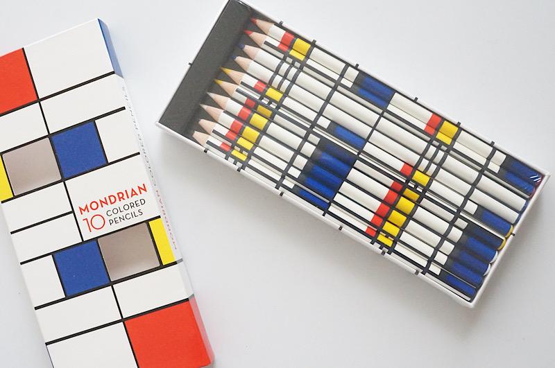 北欧雑貨/北欧/雑貨/色鉛筆/カラーペンシル/ピエト・モンドリアン/モンドリアン/アート/お洒落/文房具