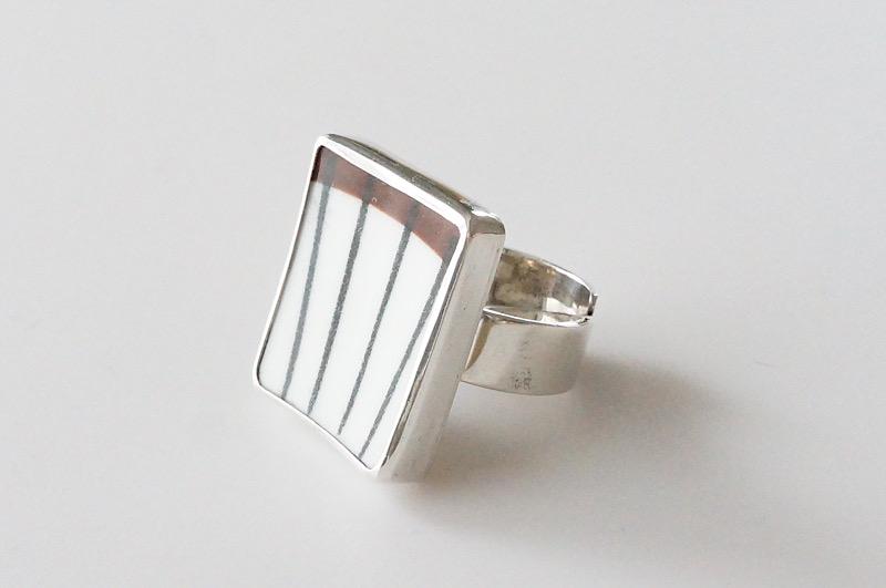 北欧雑貨/北欧/アクセサリー/指輪/リング/指輪/スピサリブ/北欧ヴィンテージ食器/ファッション雑貨