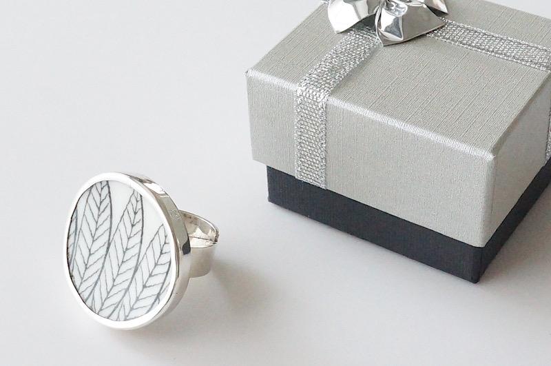 北欧雑貨/北欧/アクセサリー/指輪/リング/指輪/サリックス/北欧ヴィンテージ食器/ファッション雑貨
