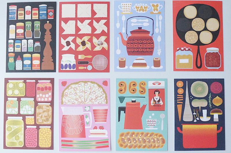 北欧雑貨/北欧/インテリア/雑貨/文房具/ポストカード/はがき/フィンランド/ケフボラ/kehvola/デザイン/イラスト/postcards/timo manttari/design