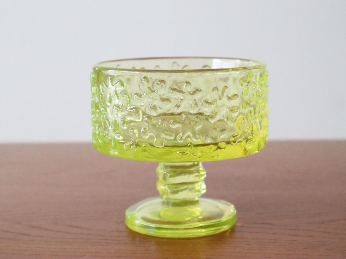 北欧食器/北欧雑貨/北欧/食器/ガラス/ヴィンテージ/Riihimaen lasi/リーヒマエン・ラシ/Jesper/ジェスパー/ガラス/デザートボウル
