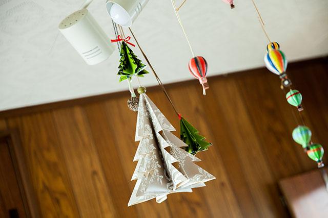 クリスマスツリー手作り,おしゃれ