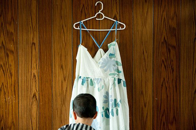 古くなったシーツ再利用方法,手作り服の試作品作り