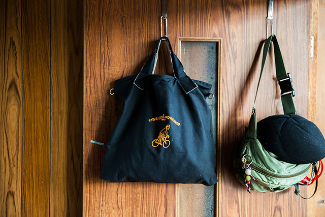 CHALKBOY刺繍図案トートバッグ帆布