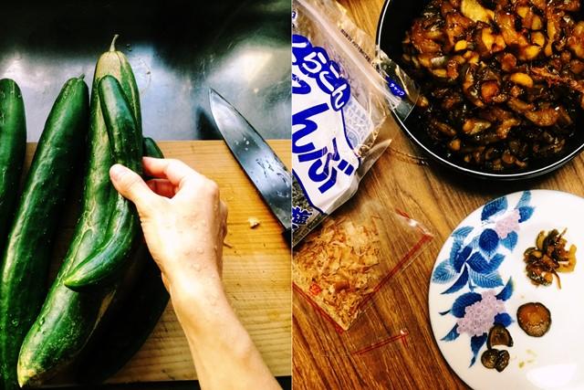 おばけ(特大)きゅうりの大量消費レシピ