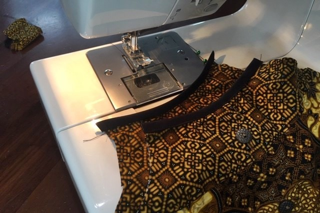 子供服リメイク方法3縫製