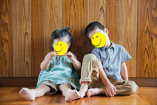 リメイク&ハンドメイドの子供服,80サイズ女児,110サイズ男児着用画像