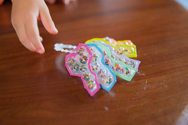 子供のおもちゃ手作りKey鍵キーホルダー