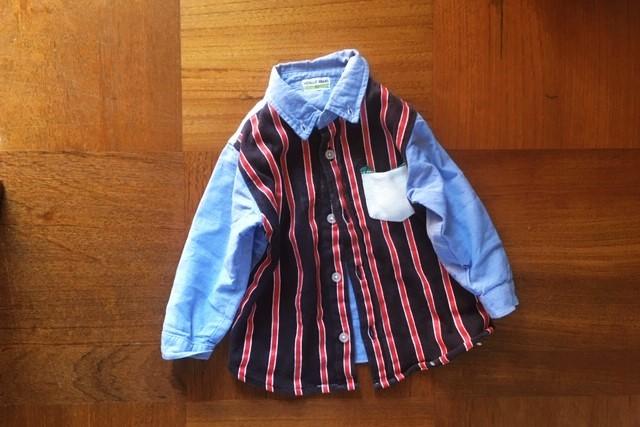 西松屋ボタンダウンシャツ90サイズ