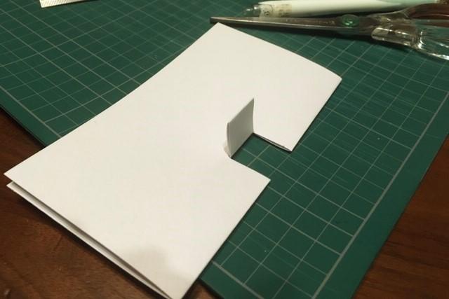 ポップアップカード簡単な作り方1
