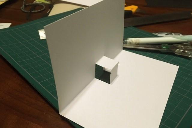 ポップアップカード簡単な作り方2