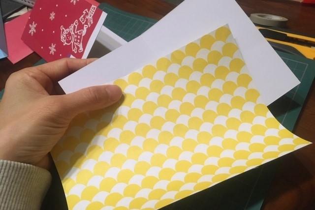 クリスマスカード作り方3