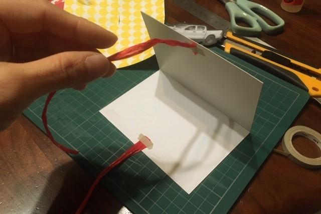 クリスマスカード作り方4