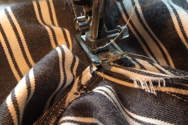 折りふせ縫いのやり方5