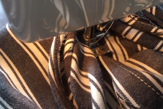 折りふせ縫いのやり方6