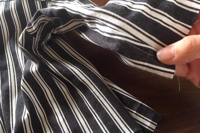 折りふせ縫いのやり方8