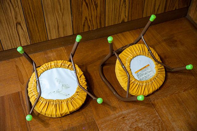 豆椅子カスタマイズ手作りカバー