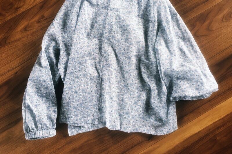 男の子にも女の子にも作ってあげたい服,美濃羽まゆみ,大人用プルオーバー,袖口変更,ゴム仕様