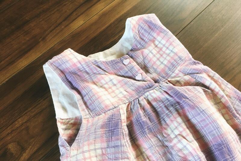 手作り子供服,ワンピース,浴衣リメイク,スタイリスト佐藤かなが作る女の子に着せたい毎日の服