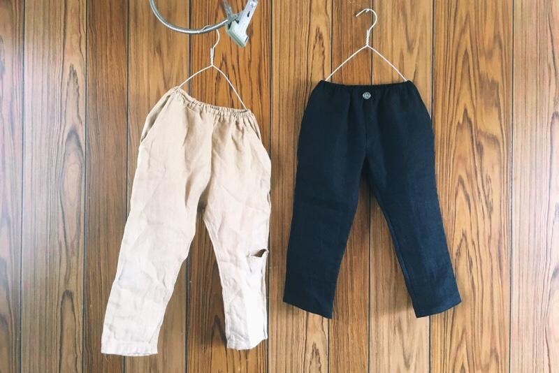 ハンドメイド,子供用パンツ,男の子にも女の子にも作ってあげたい服,ゆるサルエル